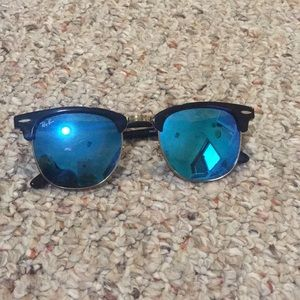 Ray Ban Clubmaster Sunglasses gently used